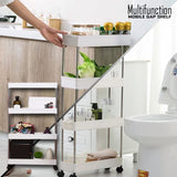 Multifunction Mobile Gap Shelf