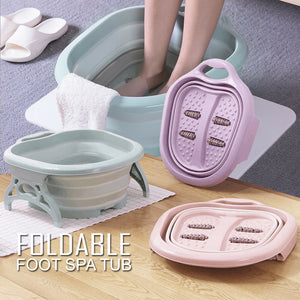 FOLDABLE FOOT SPA TUB