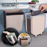 Foldable Wall Mounted Waste Bin
