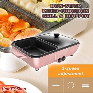 Non-Stick Multi-function Grill & Hot Pot
