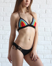 Rainbow Crochet Swimsuit