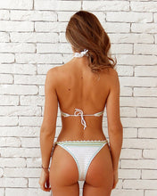Mafai Brazilian Cheeky High Leg Crocheted Bikini Handmade Kini