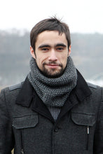 warm wool scarf for men