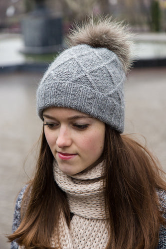 Warm Winter Pom Pom Hat Beanie