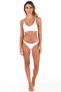 Koko swim crop-white