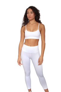 YANG (white) Sports Bra