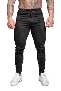 AG03 Muscle Fit Jeans-Black