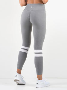 Varsity Scrunch Legging-grey