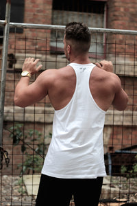 CASH Racerback- White