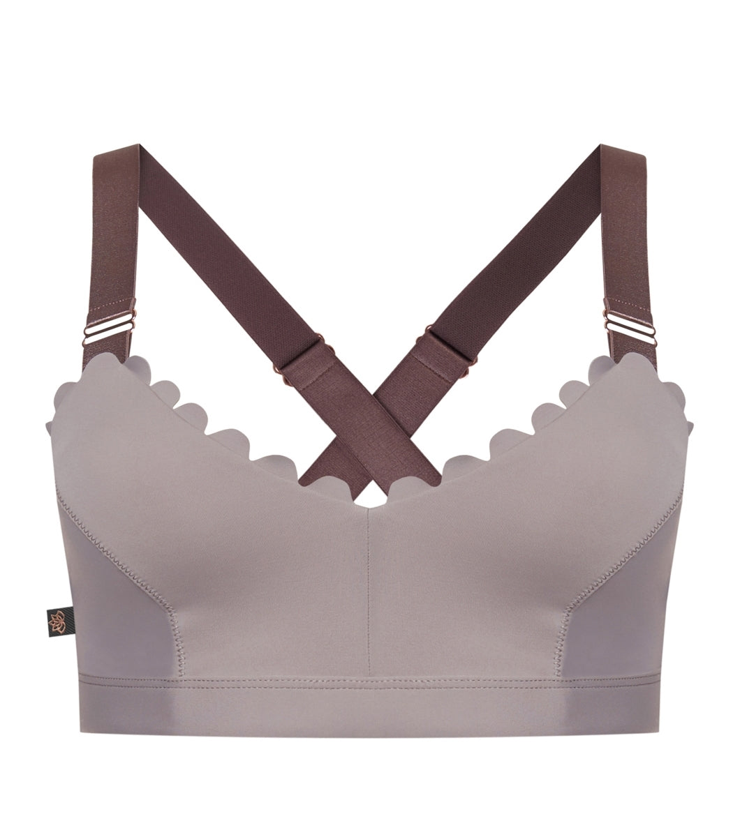 I'm On Clouds Bralette-lilac