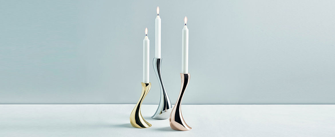 Georg Jensen, Cobra candle holder from Apartment 51