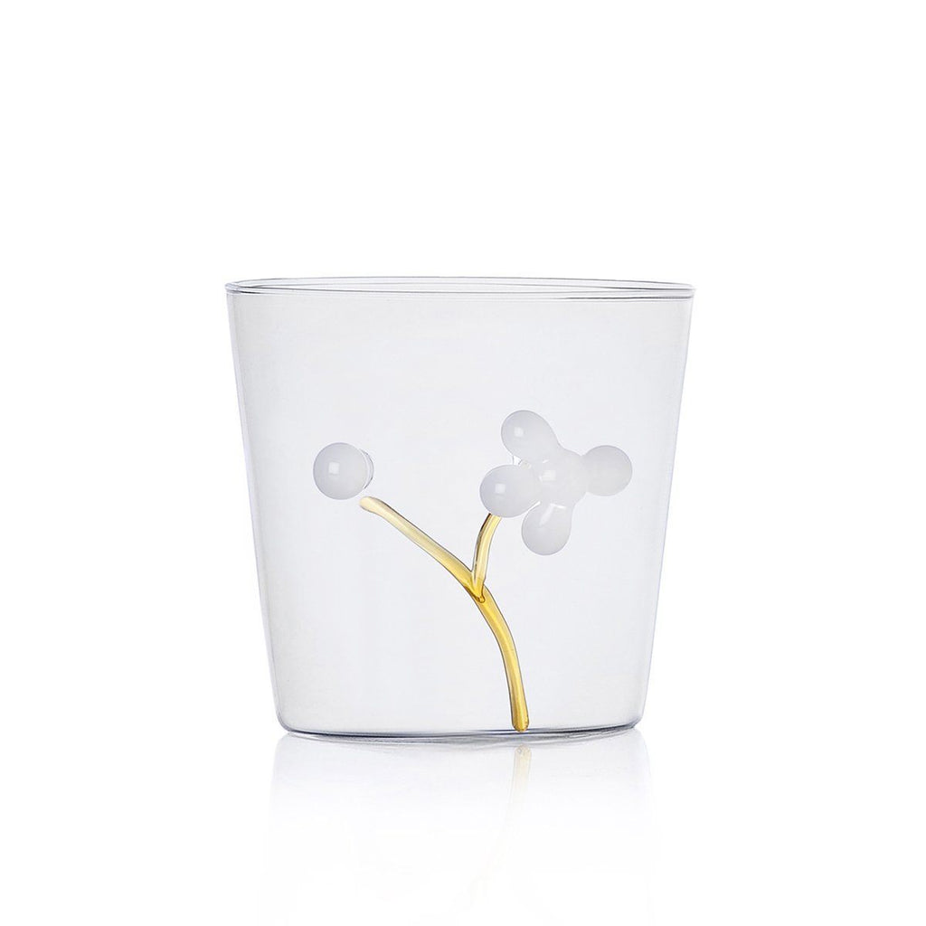 Ichendorf Greenwood White Berries Outside Tumbler, Clear