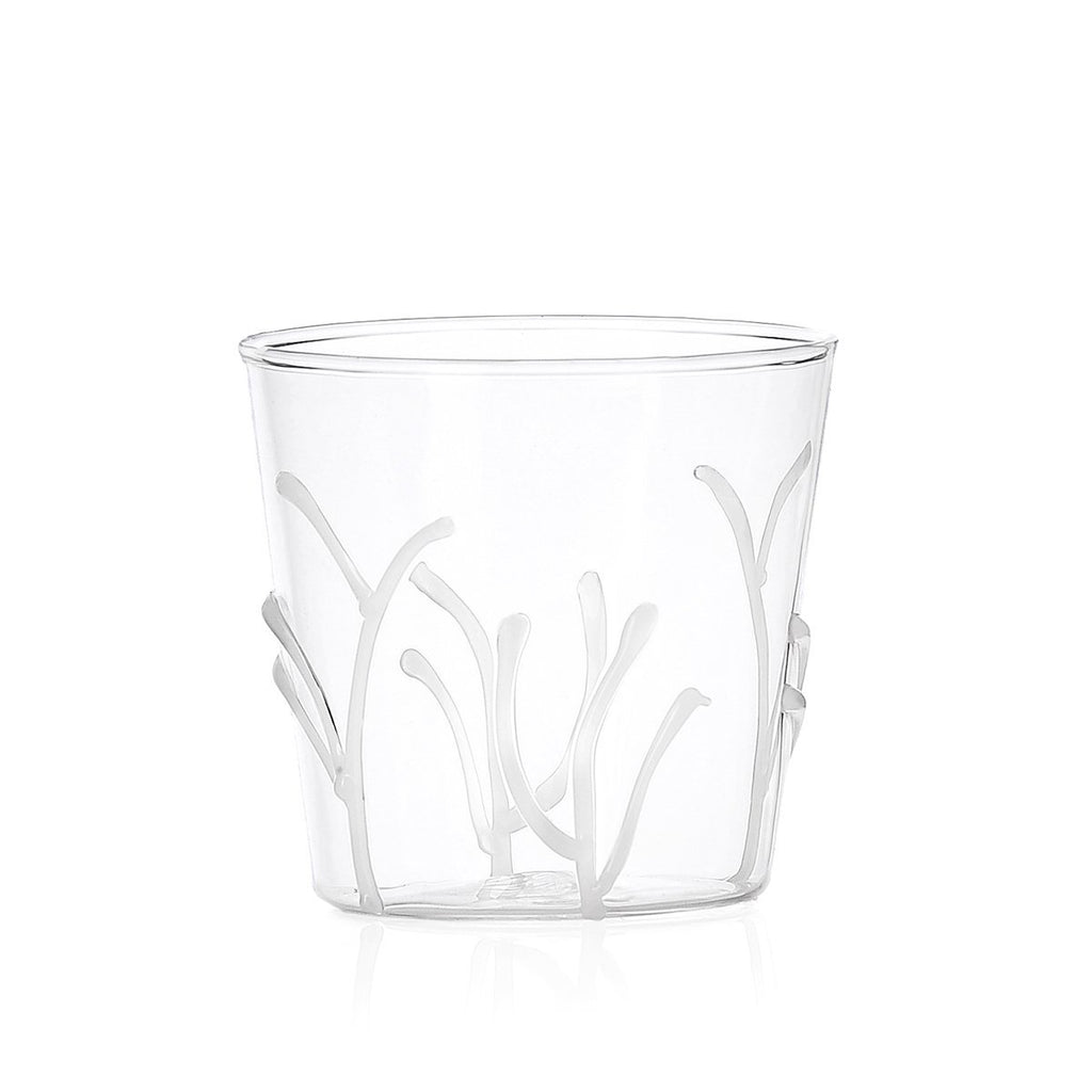 Ichendorf Greenwood White Branches Tumbler, Clear