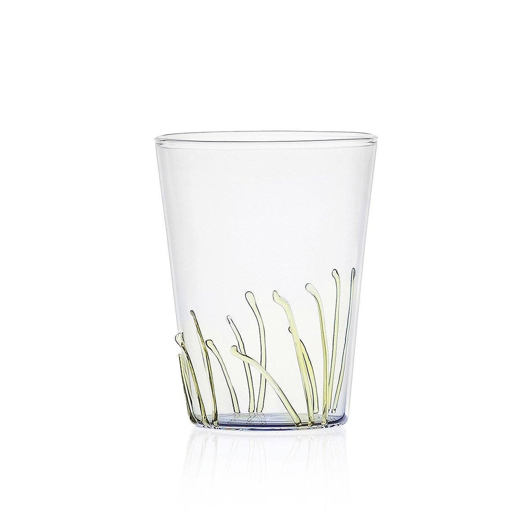 Ichendorf Greenwood Long Amber Grass Glass, Clear