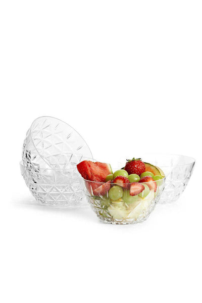 Picnic Acrylic Bowl, Set of 4, 13 cm