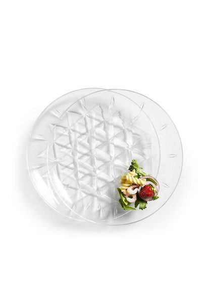 Picnic Acrylic Plate, Set of 2, 26 cm