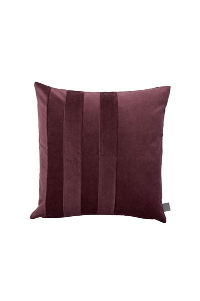Sanati Velvet Cushion, Bordeaux, 50x50 cm