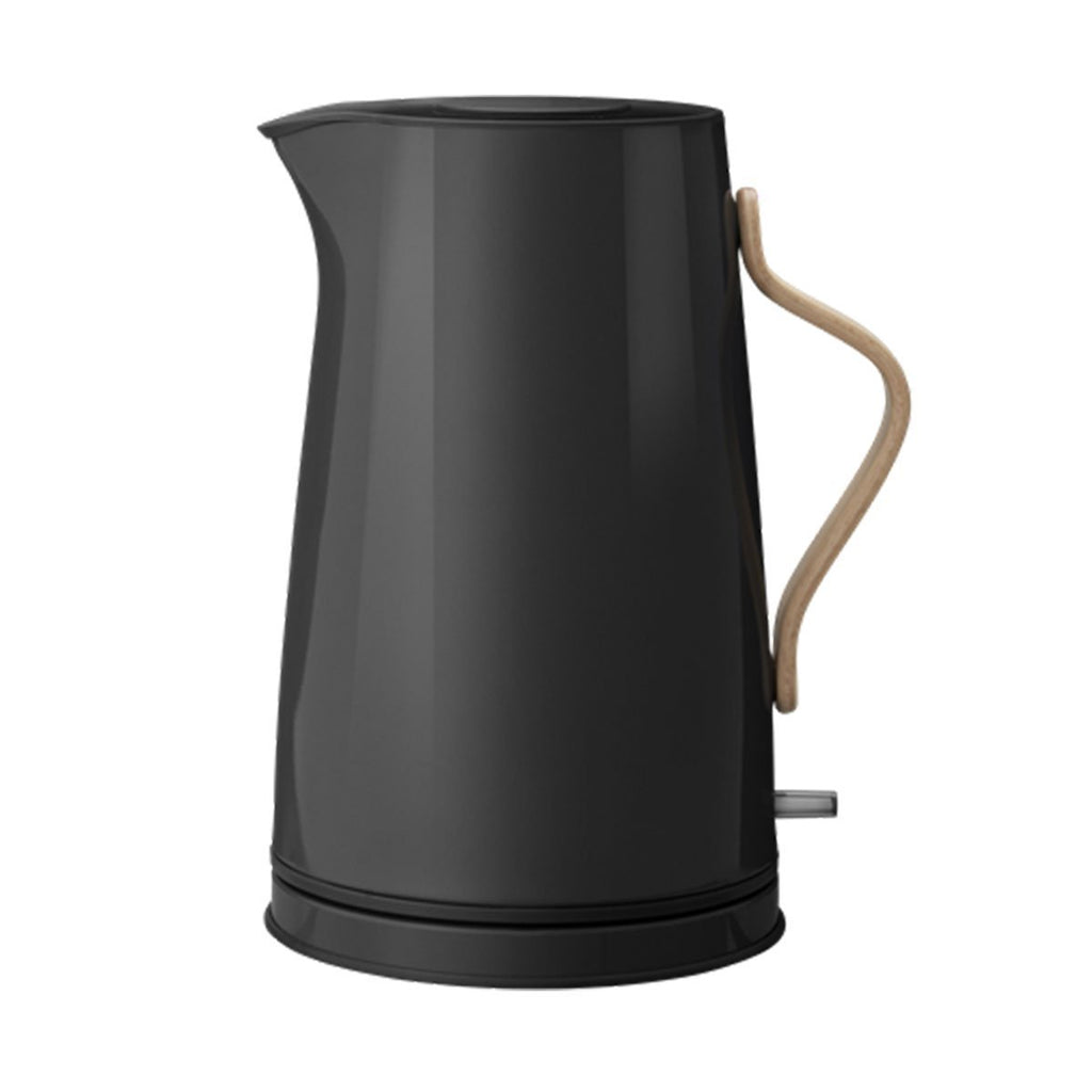 Stelton Emma Electric Kettle, 1.2L, Black, Colored Steel