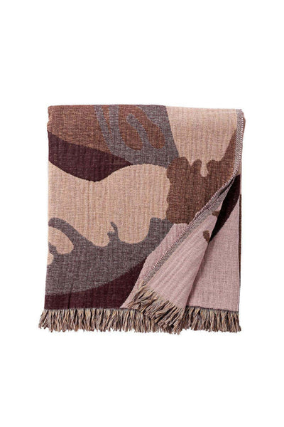 Flores Wool Throw, Multi, 170x130 cm