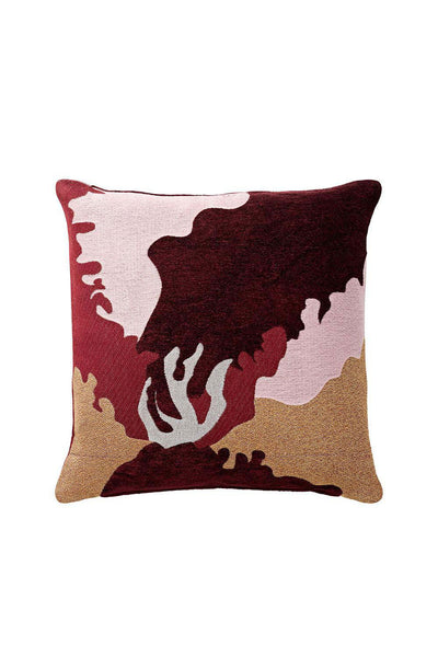 Flores Viscose Cushion, Multi, 45x45 cm