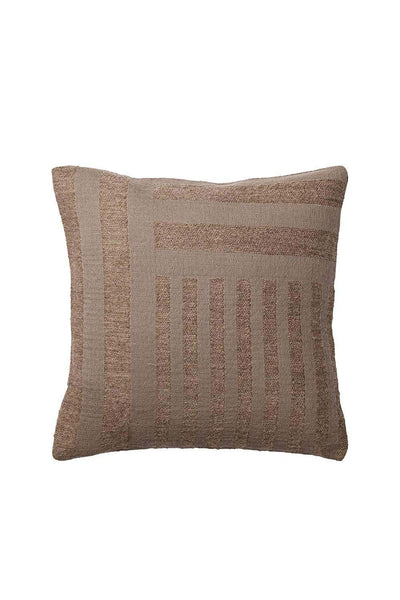Contra Wool Cushion, Taupe, 40x40 cm