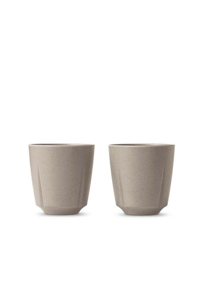 Grand Cru Take Mug, Set of 2, Sand