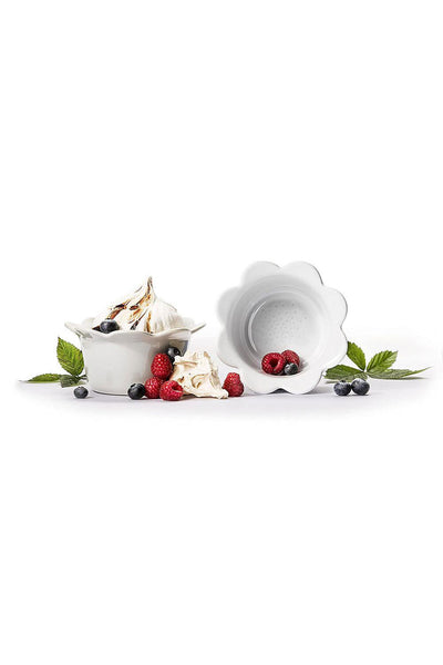 Piccadilly Bowl, Set of 2, White