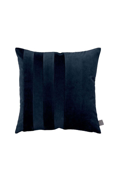 Sanati Velvet Cushion, Navy, 50x50 cm