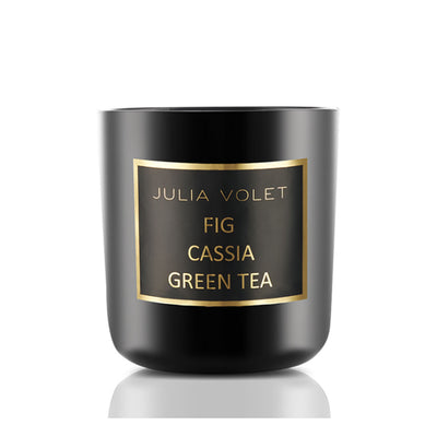 Fig Cassia Green Tea Violet Musk Candle, Large