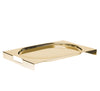 Arthur Casas Rectangular Tray, Gold