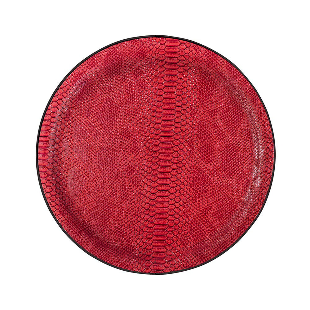 Roulette Large Tray, Ø45 cm - Rouge