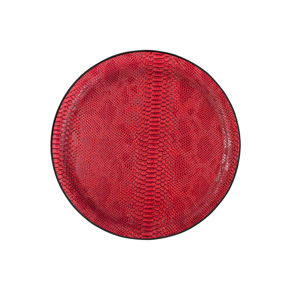 Roulette Small Tray, Ø36 cm - Rouge