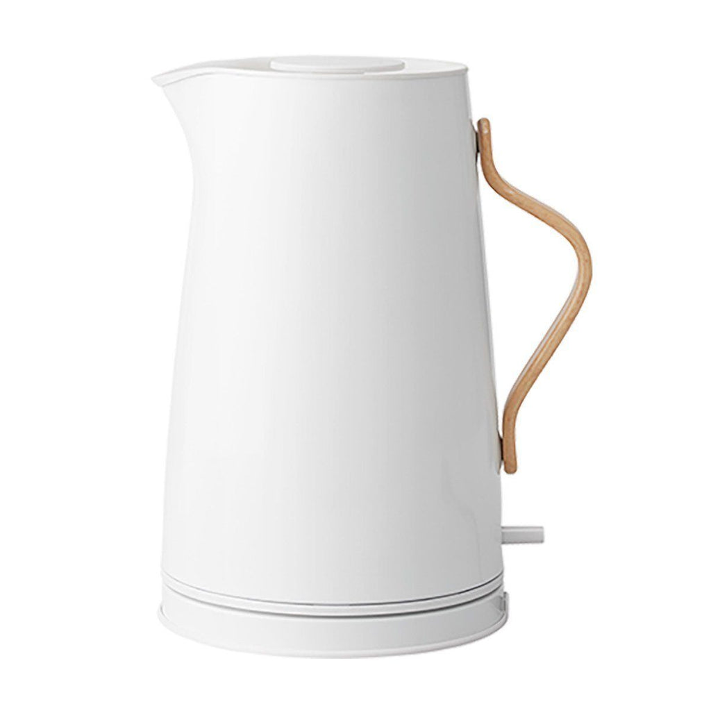 Stelton Emma Electric Kettle, 1.2L, White, Colored Steel