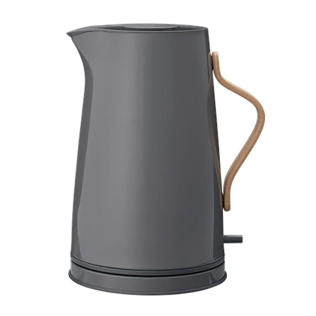 Stelton Emma Electric Kettle, 1.2L, Grey, Colored Steel
