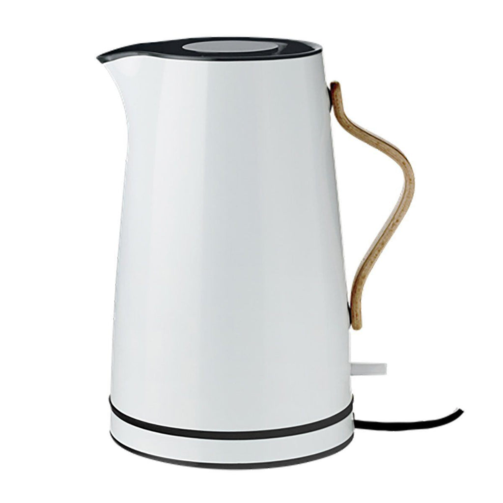 Stelton Emma Electric Kettle, 1.2L, Blue, Colored Steel