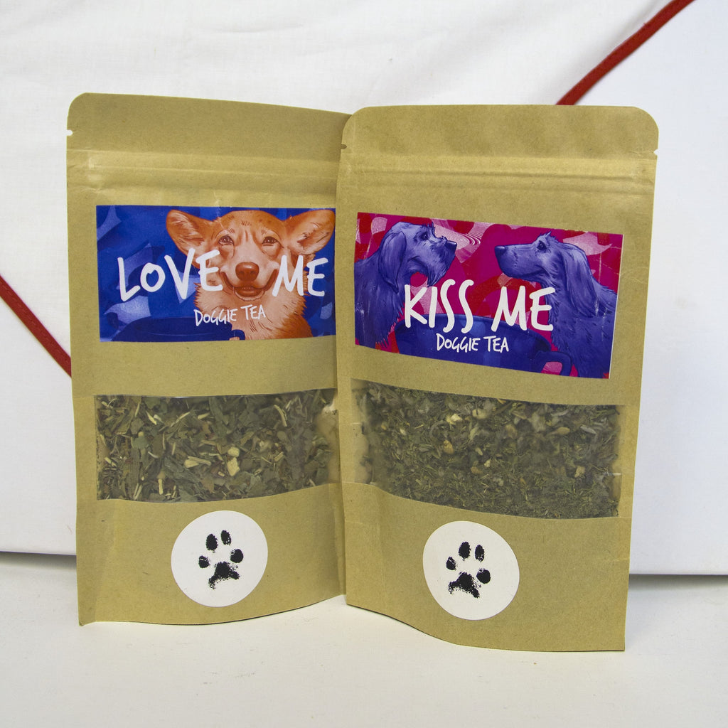 Pet Beverages - Loose Leaf Pet Tea Pouches