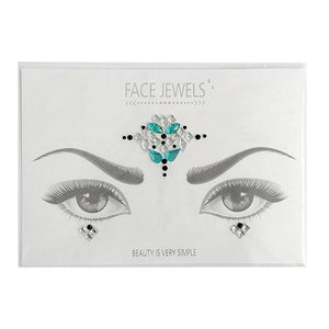 Strass Kristall Aufkleber by FACE JEWELS™