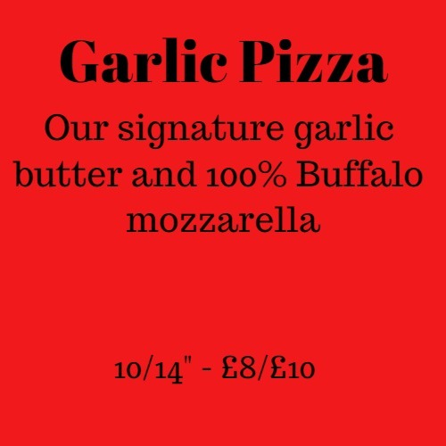 Garlic Pizza