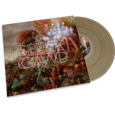 Spidergawd • Spidergawd IV -LTD gold vinyl / printed PVC sleeve