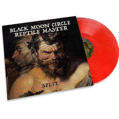 "Black Moon Circle / Reptile Master • Black Moon Circle / Reptile Master - Split 7""(LTD)"