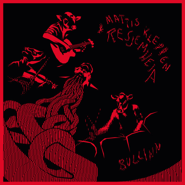 Mattis Kleppen & Resjemheia - Bullinn (LTD Transparent Red mixed with Black Vinyl)