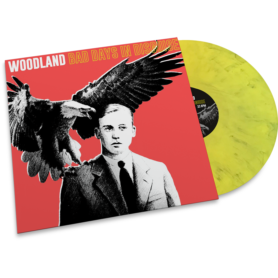 Woodland - Bad Days In Disguise (LTD Yellow & Black mixed vinyl)