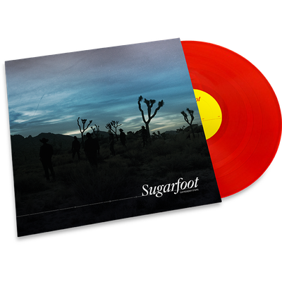 Sugarfoot • Different Stars (Transparent red vinyl)