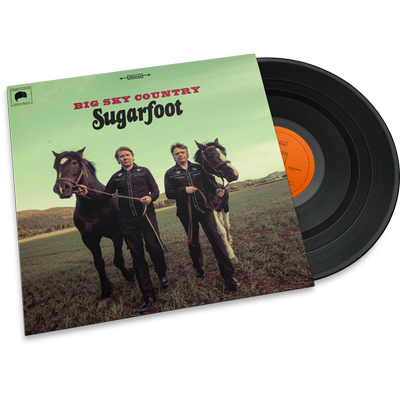 Sugarfoot  • Big Sky Country (LP x 2 /CD ltd green vinyl)