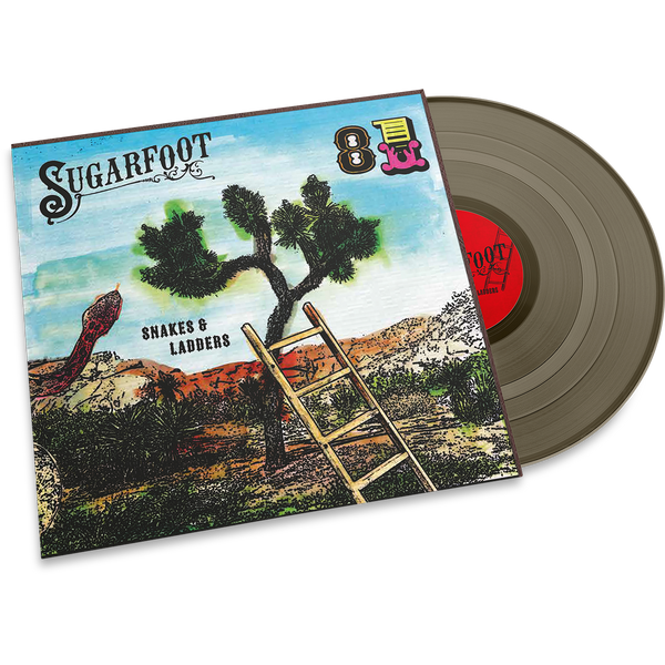 "Sugarfoot - Snakes & Ladders 7"" LTD gold"