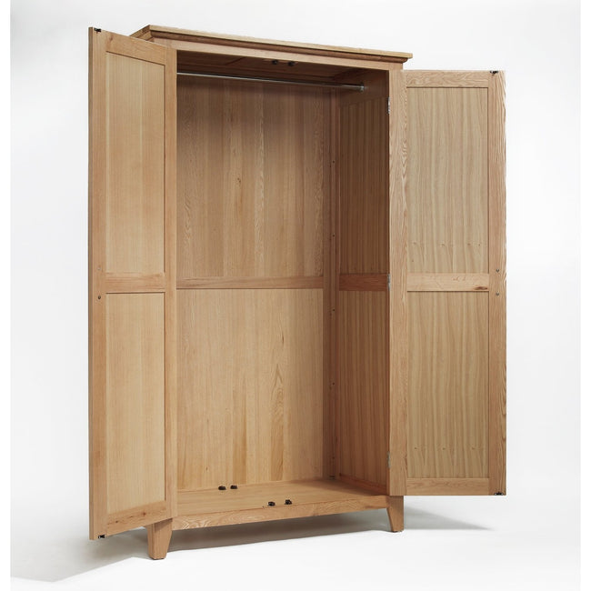Sherwood Oak Wardrobe All Hanging - Perfectly Home Interiors