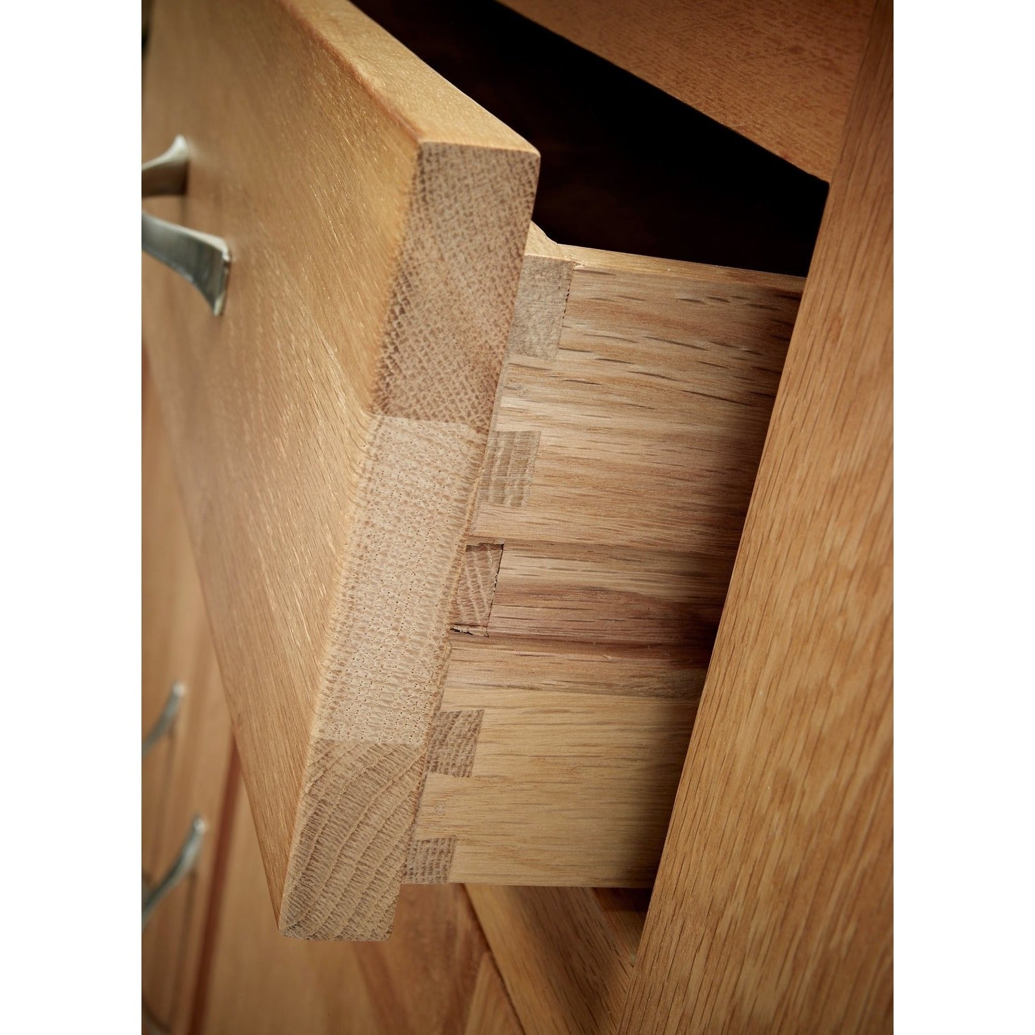 Sherwood Oak Filing Cabinet 2 Drawer - Perfectly Home Interiors