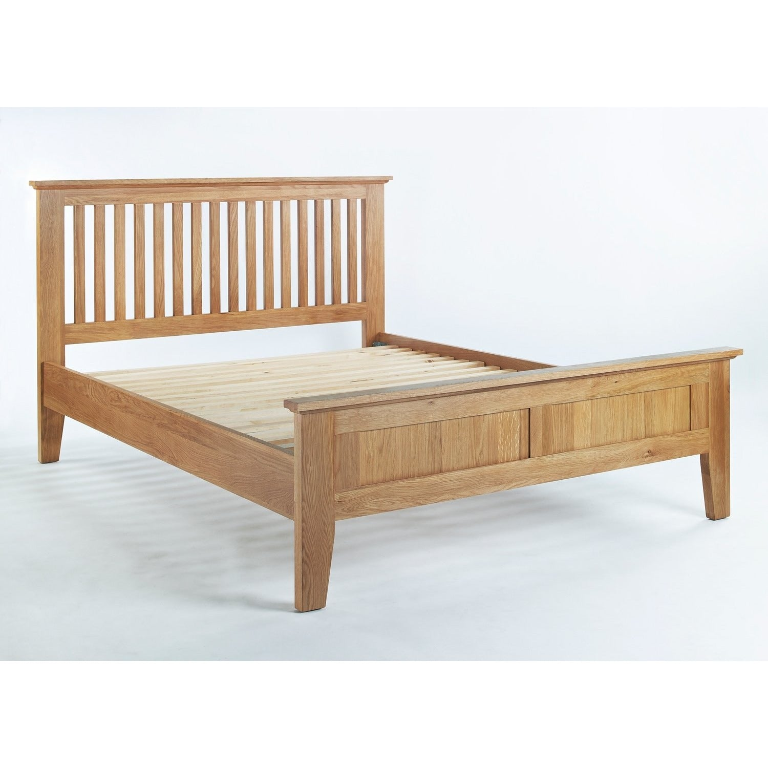 Sherwood Oak 4,6ft Double Bed - Perfectly Home Interiors