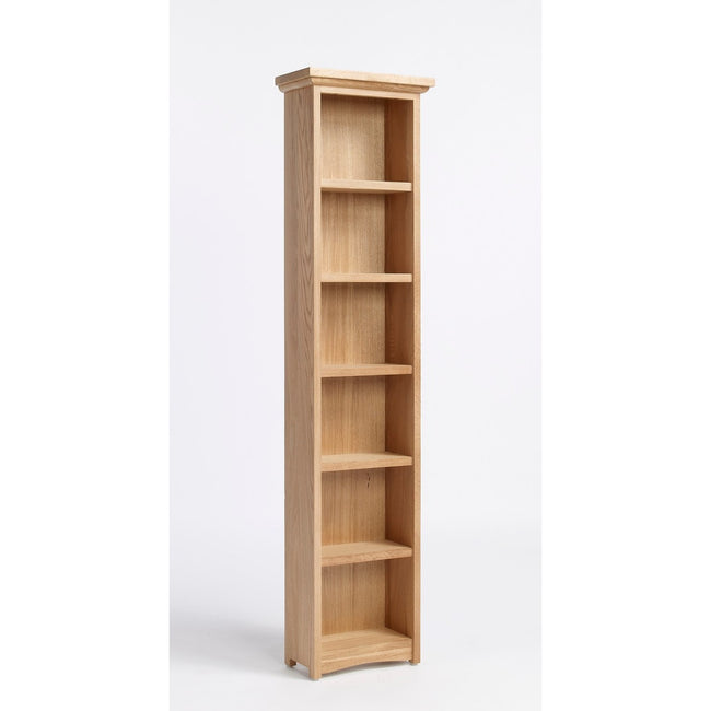 Sherwood Oak DVD/CD Cabinet With 5 Shelves - Perfectly Home Interiors
