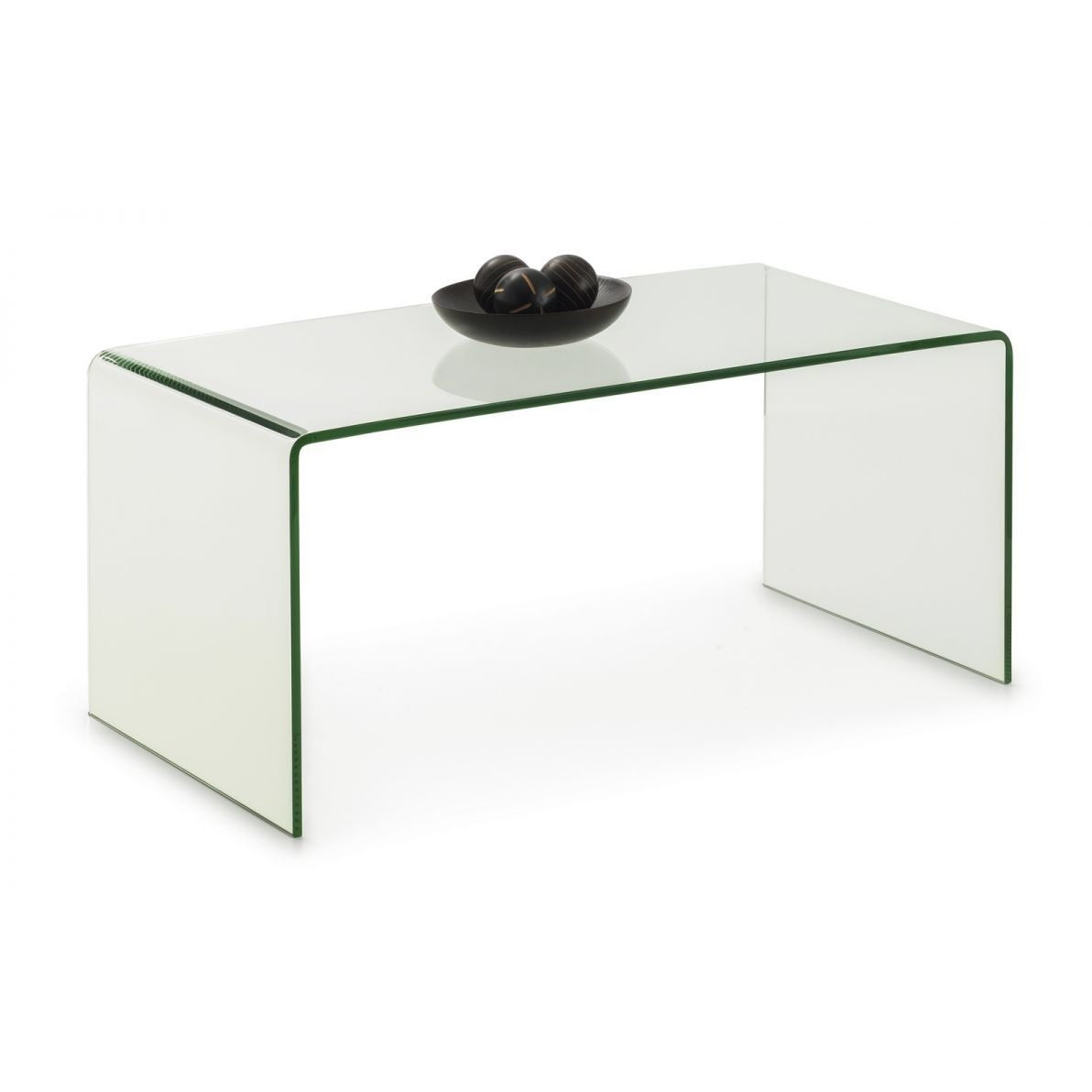 Amalfi Bent Glass Coffee Table - Perfectly Home Interiors